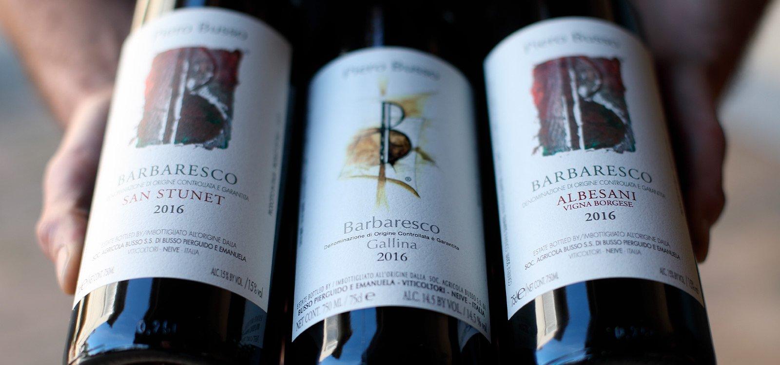 Scopri i vini Piero Busso, cantina di Neive