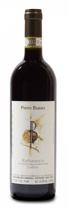 Barbaresco DOCG Gallina - Piero Busso