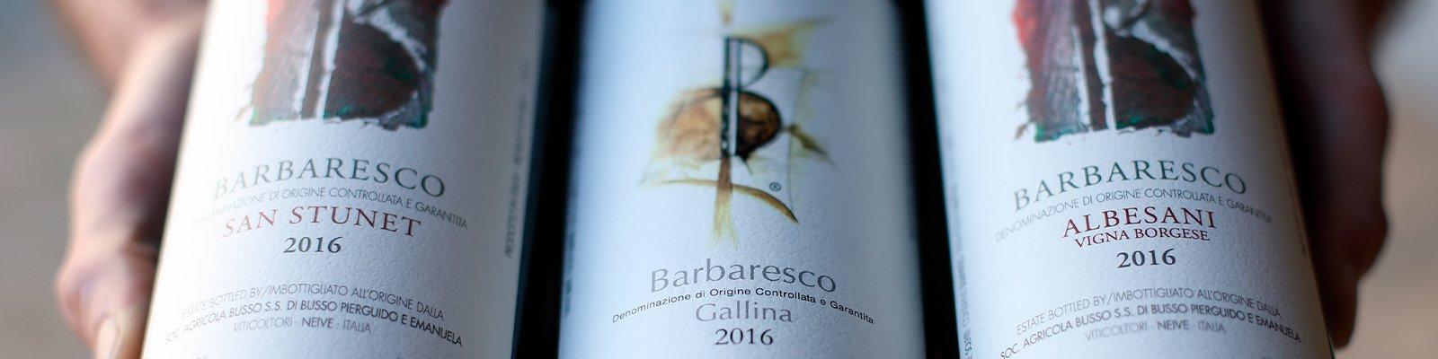 I Barberesco Piero Busso rispettano storia e tradizione del vino